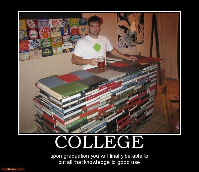 20 hilariously sad college demotivational posters