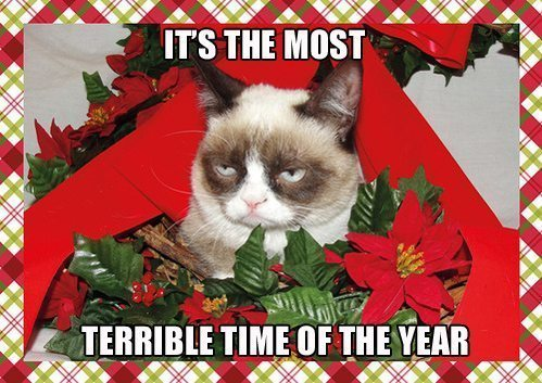 Grumpy Christmas Terrible Time