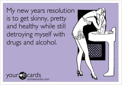 New Year's Resolution Meme