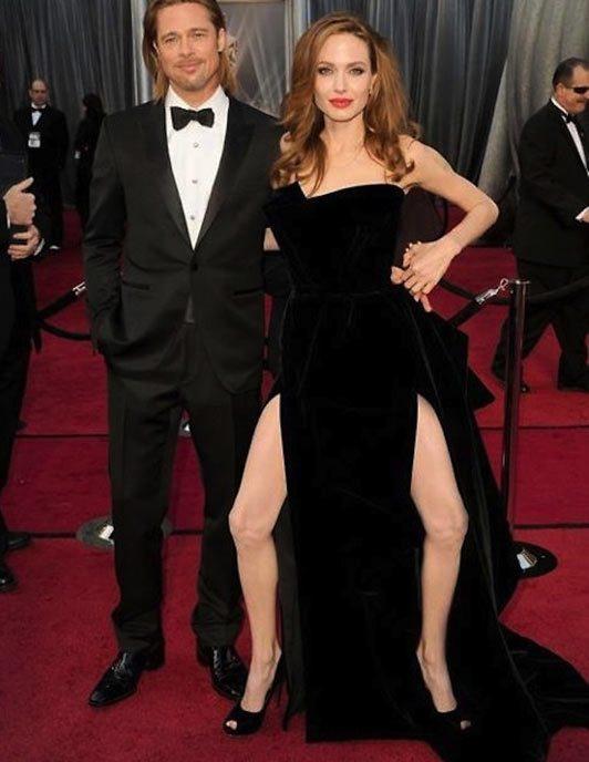 Angelina Jolie Leg Bombing Legbombing Meme