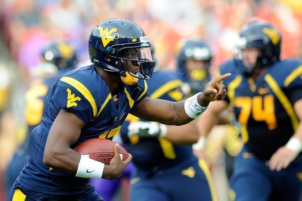 Geno Smith West Virginia Football College Sports 2012