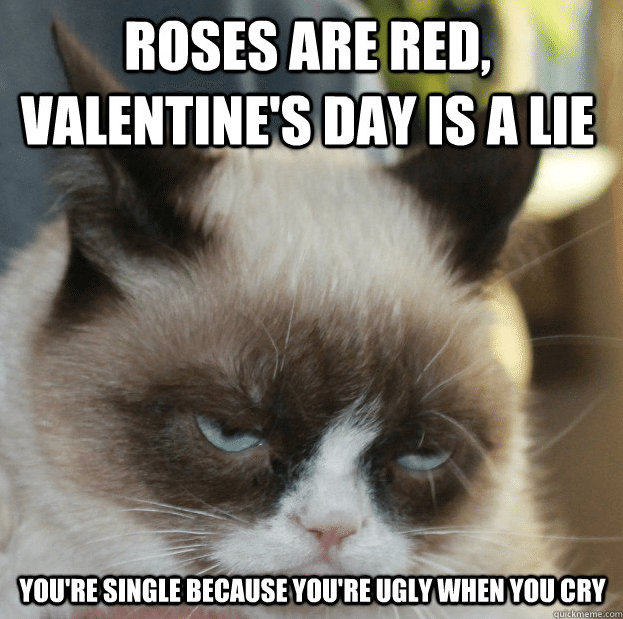 no love on valentine day quotes