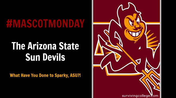 Mascot Monday Arizona State Sun Devils New Sparky Design