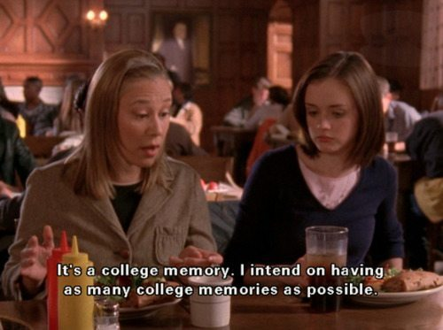 Gilmore Girls Paris Rory College