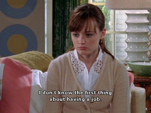 Gilmore Girls Rory Jobs