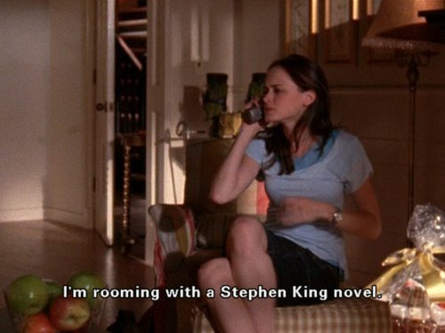 Gilmore Girls Rory Stephen King Roommates