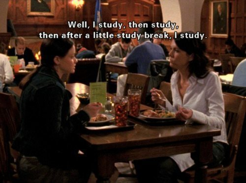 Gilmore Girls Study Break Rory