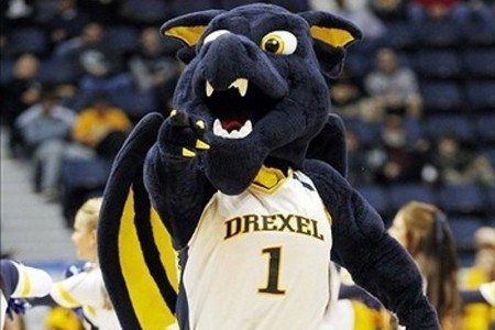 Mascot Monday - The Drexel University Dragons - Drexel Dragons Mascot