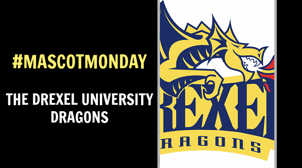 Mascot Monday - The Drexel University Dragons