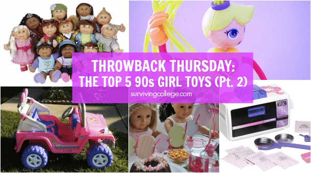 Throwback Thursday - Top 90s Girl Toys