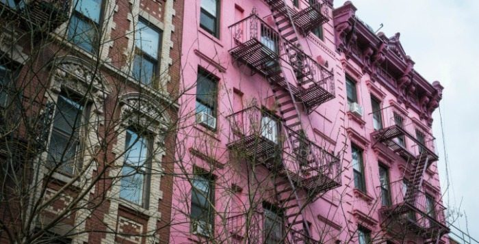 Apartment Building - New York City