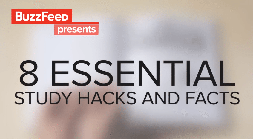 Video 8 essential study hacks and facts surviving college