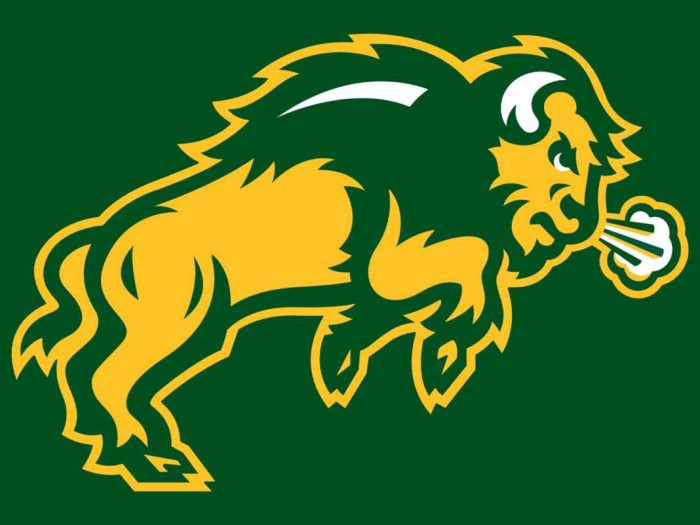 North Dakota State University Bison - Thundar - Mascot Monday 2