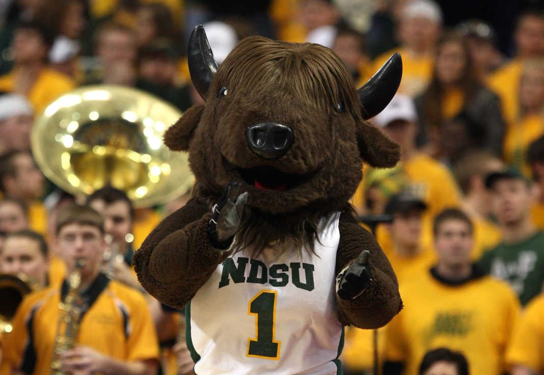 North Dakota State University Bison - Thundar - Mascot Monday