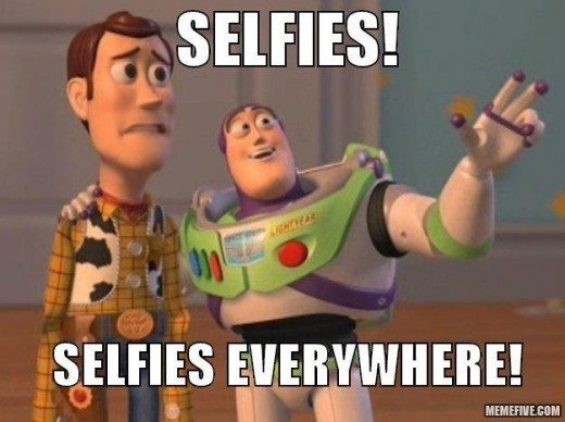 Selfies Selfies Everywhere Toy Story Meme