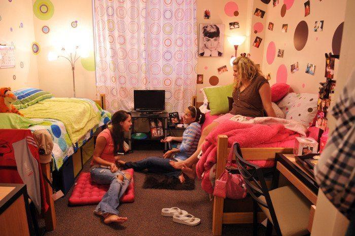 college dorm living